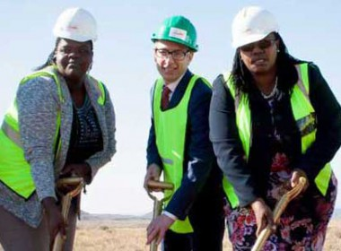 Noupoort Wind Farm groundbreaking