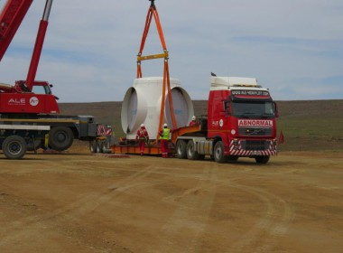 Noupoort Wind Farm Successfully Completed Turbine Transportation