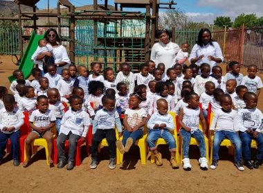 COMMUNITY LEADERS CELEBRATE LAUNCH OF ZINGISANI CRECHE IN NOUPOORT